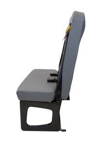 A side view of the SafeGuard BTI seat.
